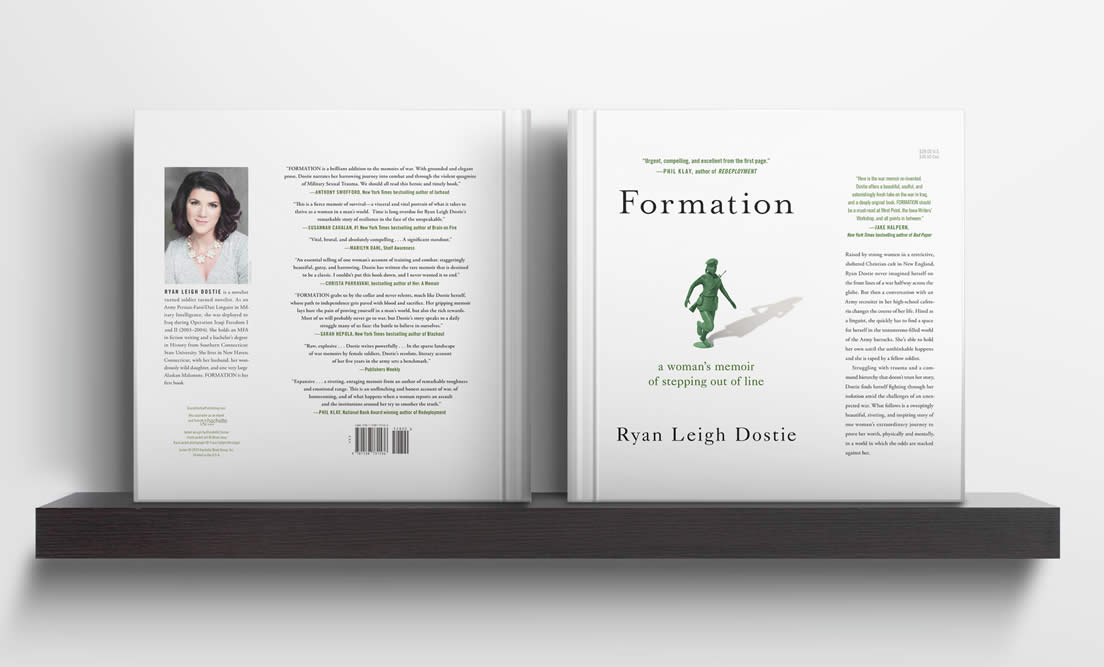 """Formation - A Woman's Memoir of Stepping Out of Line"" by Ryan Leigh Dostie"