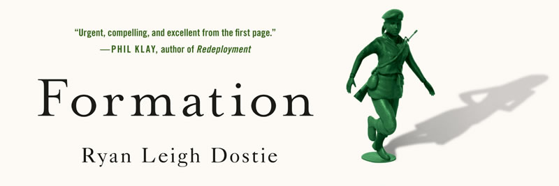 "Ryan Leigh Dostie - ""Formation - A Woman's Memoir of Stepping Out of Line"""